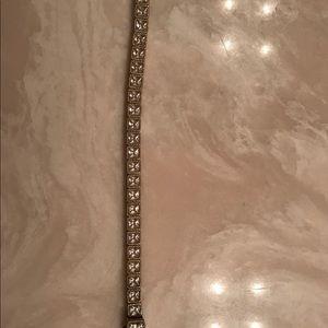 Judith Ripka 14K clad sterling silver Bracelet